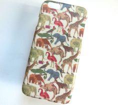 リバティ♥動物 1 iPhoneケース スマホケース|iPhoneケース・スマホ|ハンドメイド通販・販売のCreema