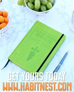 The Nutrition Sidekick Journal is your research-based book, journal, and coach all in one. Fully customizable to work with ANY eating style. Plan out what you want to eat each day, then record what you ACTUALLY ate to get held accountable. Book Journal, Journals, Thick And Fit, Daily Challenges, Calorie Counting, Life Coaching, Types Of Food, Eating Plans, New Tricks