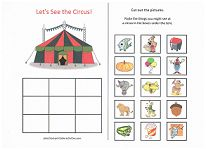Fun cut and paste category activities for preschoolers: What goes in a backpack? What goes camping? What goes at the circus? What goes at the beach? Carnival Activities, Activities For Teens, Sorting Activities, Speech Therapy Activities, Language Activities, Learning Activities, Preschool Lesson Plans, Preschool Printables, Preschool Worksheets