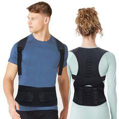 Posture Corrector Back Brace Shoulder Back Support Belt Shoulder Posture Adjust magnetic therapy for Unisex Back Brace Posture Corrector, Posture Corrector For Men, Posture Device, Bad Posture, Best Back Brace, Shoulder Posture, Shoulder Brace, Upper Back Pain, Posture Correction