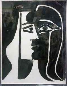 Pablo Picasso, Tete Du Femme available at #gallartcom
