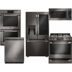 """Save a lot of money at www.DiscountBandit.com. Seriously, check them out; they have the best deals on tons of stuff! Whirlpool 4 Piece Kitchen package With WFG520S0FS 30"""" Gas Range  WMH53520CS Over The Range Microwave  WRF767SDEM 36"""" French Door Refrigerator and WDT780SAEM 24"""" Built In Dishwasher In Stainless Steel"""