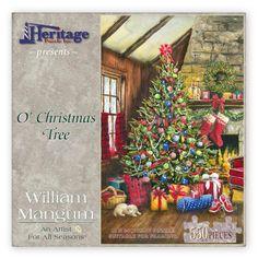 'O' Christmas Tree' by William Mangum 550 piece jigsaw puzzle