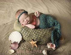 knit little mermaid outfit....so cute!!!
