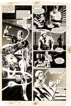 Image of Frank Miller and Klaus Janson Daredevil #179 Page 5 Original Art | Lot #92124 | Heritage Auctions