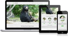 Zoo Planet - Free Bootstrap Template, http://bootshape.com/templates/onepage_templates/zoo_planet