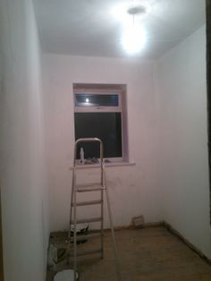 21.)  Dad, your room's nearly ready.