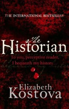The Historian by Elizabeth Kostova #book #cover