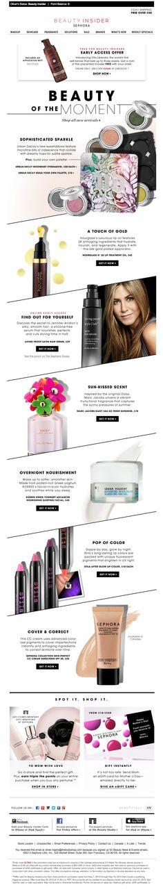 Sephora email design