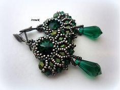 Smaragdový svet by IrenaK - SAShE.sk - Handmade Náušnice