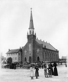 Ste. Genevieve Catholic Church. Ste. Genevieve, Missouri.