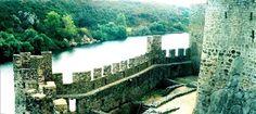 Castelo de Almourol (vista para o Rio Tejo) - Vila Nova da Barquinha, Santarém (Portugal).