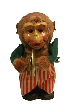 Monkey with Cymbals Wind-Up Toy on Collectors Quest