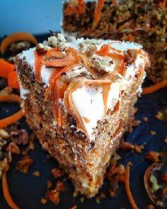 Cake with carrot and ham - Clean Eating Snacks Brownies, Brownie Cake, Greek Recipes, Desert Recipes, Cookbook Recipes, Cooking Recipes, Greek Cake, Little Corner, Salty Cake