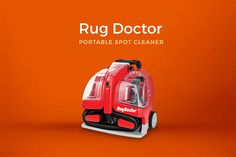 The powerful and sleek looking portable carpet cleaning cleaner from ‪#‎RugDoctor‬. HONEST REVIEW of the Rug Doctor Portable Spot Cleaner here => https://www.carpetgurus.com/rug-doctor-portable-spot-cleaner-review/