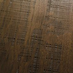 DESIGN - Woven Walnut Planks - antiqued Parquet. Noce anticato lavorato a tessuto. #cadorin engineered wood flooring