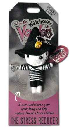 the stress reducer - watchover voodoo doll. Love theses string dolls!! They make great gifts!!