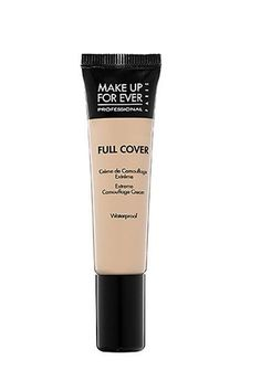 """Makeup Tips For Acne Scars Matte It Up Just like with your foundation, you should opt for a cover-up that's both matte and highly pigmented. This product is """"super-opaque and matte, and it does an incredible job smoothing out the unevenness in the skin texture,"""" he says. """"It seems to fill in the deep parts of the scarring."""" To apply the concealer, Sarmiento dots it onto specific areas with a flat Jane Iredale Camouflage Brush Make Up For Ever Full Cover Camouflage Cream, $32 at Sephora"""