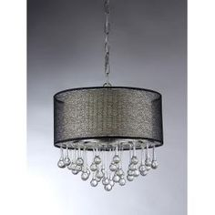 Warehouse of Tiffany, Madeline Crystal 4-Light Chrome Chandelier, RL1224 at The Home Depot - Mobile