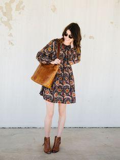 part 1: styling a boho dress three ways:
