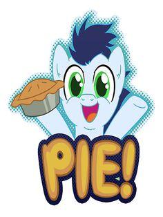 """""""My Little Pony Friendship is Magic Soarin Pie"""" by cyberwolf247   Redbubble"""