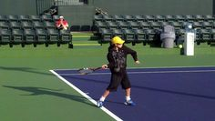 Ball Kid Practice at Indian Wells.