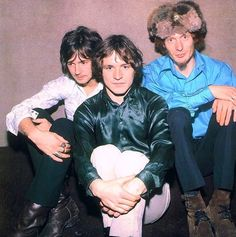 The Cream - Eric Clapton, Jack Bruce and Ginger Baker