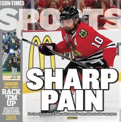 SHARP PAIN Pittsburgh Penguins, Chicago Blackhawks, Cubs, Nhl, Hockey, Baseball Cards, Otters, Scores, Bear Cubs