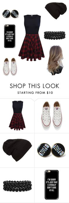 """Untitled #266"" by a-hidden-secret ❤ liked on Polyvore featuring Converse, Bling Jewelry and Casetify"