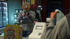 This week, Rockstar released a holiday update with all sorts of seasonal goodies. One of those things included a gingerbread mask--and players are using it to great effect.