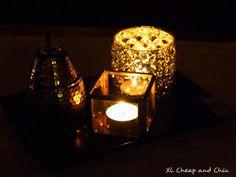 XL Cheap & Chic: Uudet tuikkukupit - New candle holders. Candle Holders, Candles, Chic, Shabby Chic, Elegant, Porta Velas, Candy, Candle Sticks, Candlesticks
