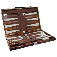 Deluxe Backgammon Set - Board Games - MaxiAids