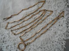 Antique muff chain 1910 by Nkempantiques on Etsy, €35.00