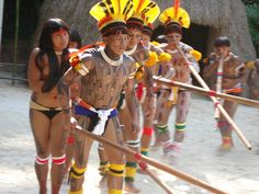 Índios do Xingu by Beta Vieira, via Flickr