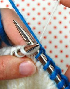 knitting: intarsia knitting tutorial