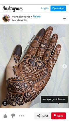 Latest Henna Designs, Simple Arabic Mehndi Designs, Henna Tattoo Designs Simple, Modern Mehndi Designs, Mehndi Design Pictures, Bridal Henna Designs, Mehndi Designs For Fingers, Beautiful Henna Designs, Dulhan Mehndi Designs