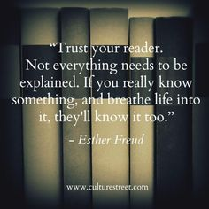 Culture Street | Quote of the Day by Esther Freud