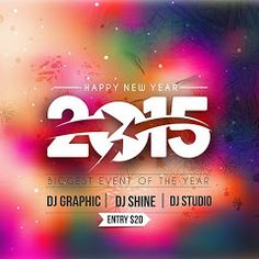 New Year 2015 Party Flyer & Poster