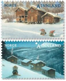 Norway stamps | Christmas stamps from Norway | Stampnews.com