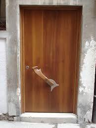 forcola veneziana - apri porta con una piccola forcola