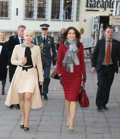 Princesa Mary de visita à Estónia Visita ao Estonian Children's Literature Centre