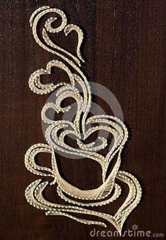 Intricate string art