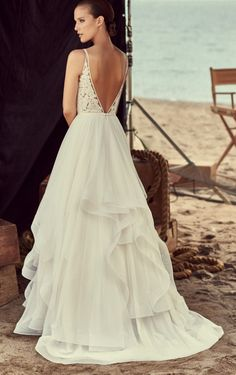 is proud to offer gowns that give brides the look, the feel, the style, and the cultivated beauty of high fashion couture gowns, at an attractive price. Elegant Wedding Gowns, Top Wedding Dresses, Glamorous Wedding, Formal Dresses, Top Wedding Dress Designers, Mikaella Bridal, Best Gowns, Mod Wedding, Dream Wedding