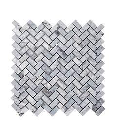 Lola Sky™ Herringbone Mosaic Tile