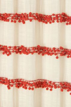 Love these!    Swing Stripes Curtain - Anthropologie.com