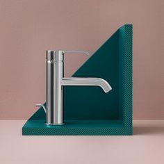 Grifería para lavabos-Mobiliario de lounge-ON single lever basin mixer-Zucchetti