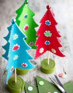 Festeggiare Natale con un tocco di originalità  5 idee per alberi di Natale  fai da te 5f5b6cbf31ec