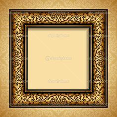 depositphotos_33313093-Vintage-gold-frame-antique-background.jpg (1024×1024)