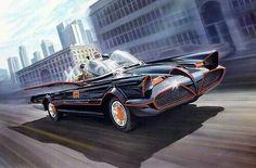 TVs Batmobile by Alex Ross