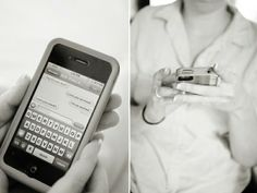 sending the groom a text pre wedding photo - Google Search